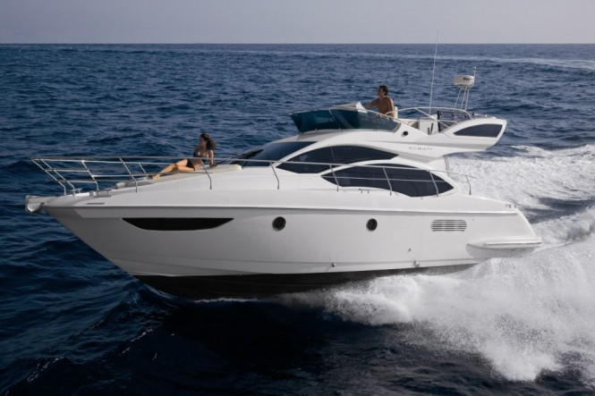Azimut 38 Flybridge Motor Yacht - Credit Azimut Yachts