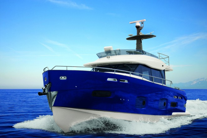 Atlantis 44 is a step ahead in style and functionality in the sector of open ...