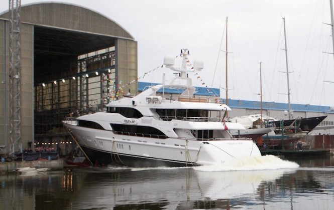 "Benetti Vision 145 Motor Yacht ""Told U So"" launched"