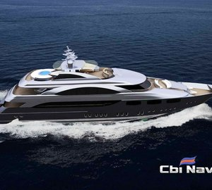 CBI 50 Superyacht Aifos by Cbi Navi nearing launch