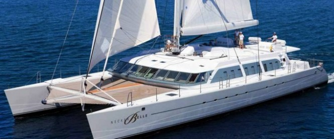 Catamaran Necker Belle to enter BVI Spring Regatta & Sailing Festival
