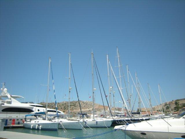 Cesme Marina located on the beautiful Izmir Peninsula in the Aegean - Image courtesy of Camper & Nicholson Marinas