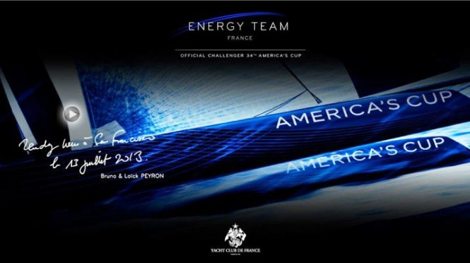 Energy Team to Challenge for the 34th Americas Cup