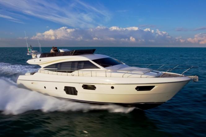 Ferretti 620 Winner of the Croatian Boat of the Year Award 2011 for motor ...