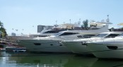 Ferretti Yachts at Miami Boast Show 2011
