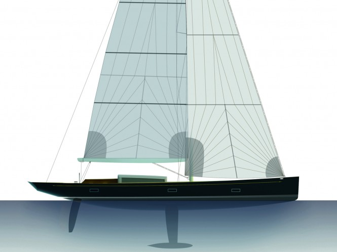 German Frers 88ft 'Tulip' by K&M Yachtbuilders