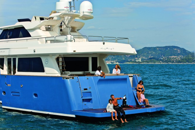Mochi Craft Long Range 23 Motor yacht