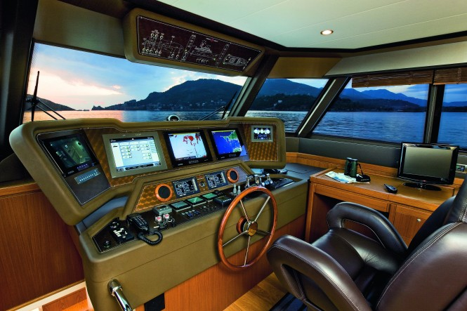 Mochi Craft Long Range 23 Motor yacht Pilot house