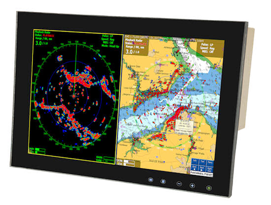 New Touch Control Bridge Monitors for Superyachts by Aadaptiv Technologies