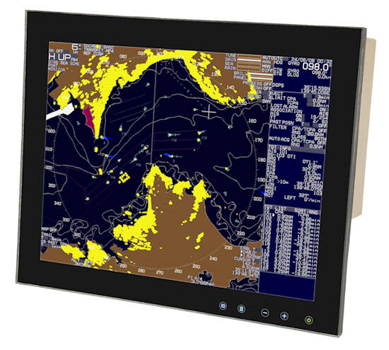 New 15 inch Touch Control Bridge Monitors for Superyachts by Aadaptiv Technologies