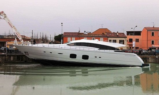 Pershing launches the Pershing 108 motor yacht