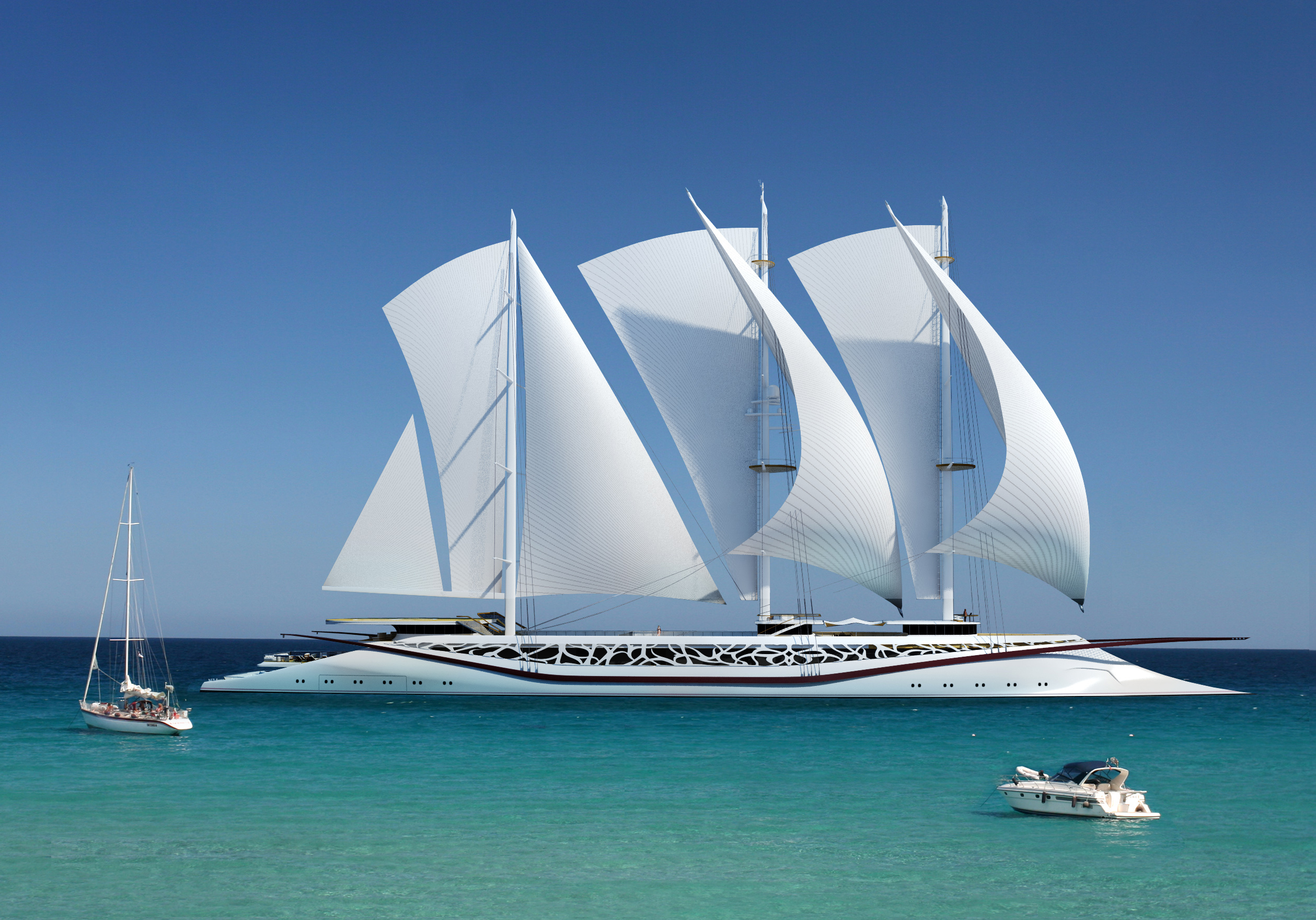Phoenicia Yacht Concept By Igor Lobanov