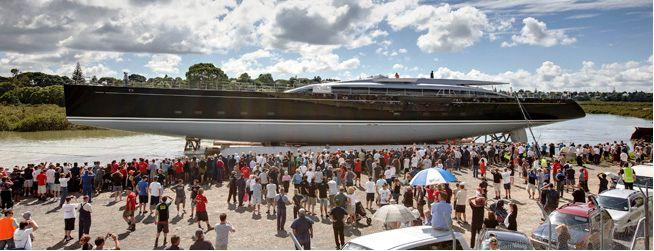 Sailing yacht Vertigo launched by Alloy Yachts