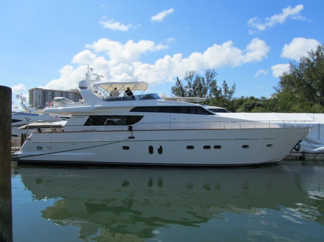 San Lorenzo sells a SL72 and a SL88 Ameglia planning yacht at the Miami Boat ...