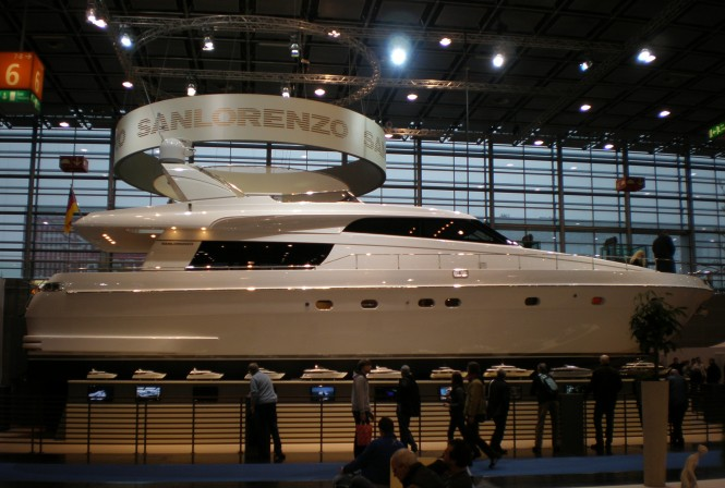 San Lorenzo sells a SL62 and a SL82 Motor Yachts at the Duesseldorf Boat ...