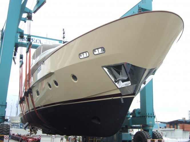 Sanlorenzo launches Motor Yacht Lady Kathleen, the 14th SD92