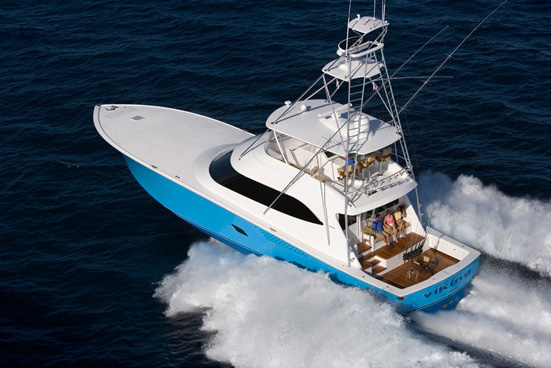 At the 70th Annual Miami Boat Show 2001, Six Viking yachts were sold, ...