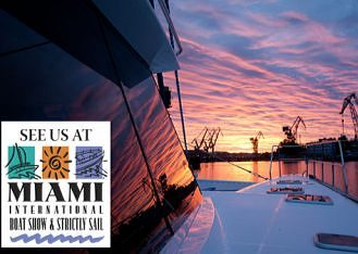 Sunreef Yachts Catamaran Sparrow at the Miami Strictly Sail 2011