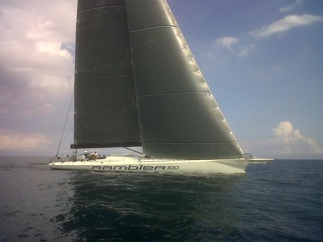 Super Maxi Sailing Yacht Rambler 100