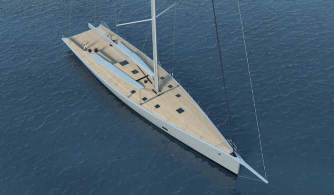 The new 100ft Wallycento Sailing Yacht by Wally - STRUCTeam™ to engineer first example