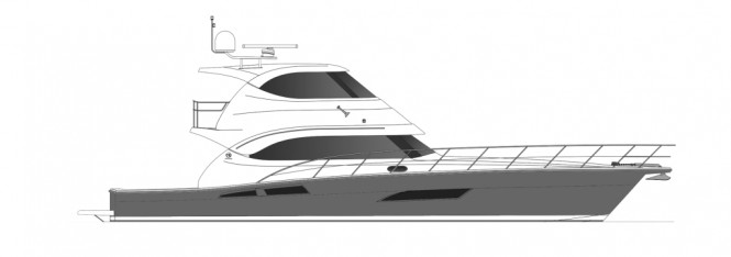 The new Riviera 61 Enclosed Flybridge Series II