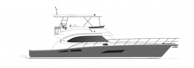 The new Riviera 61 Open  Flybridge Series II