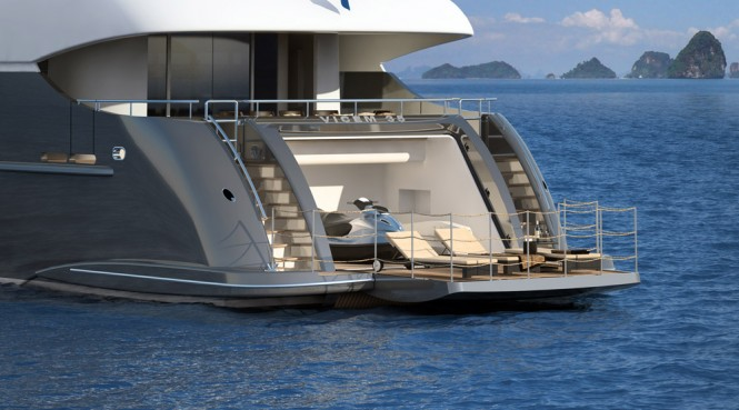 Vicem Vulcan 35M tri-deck yacht