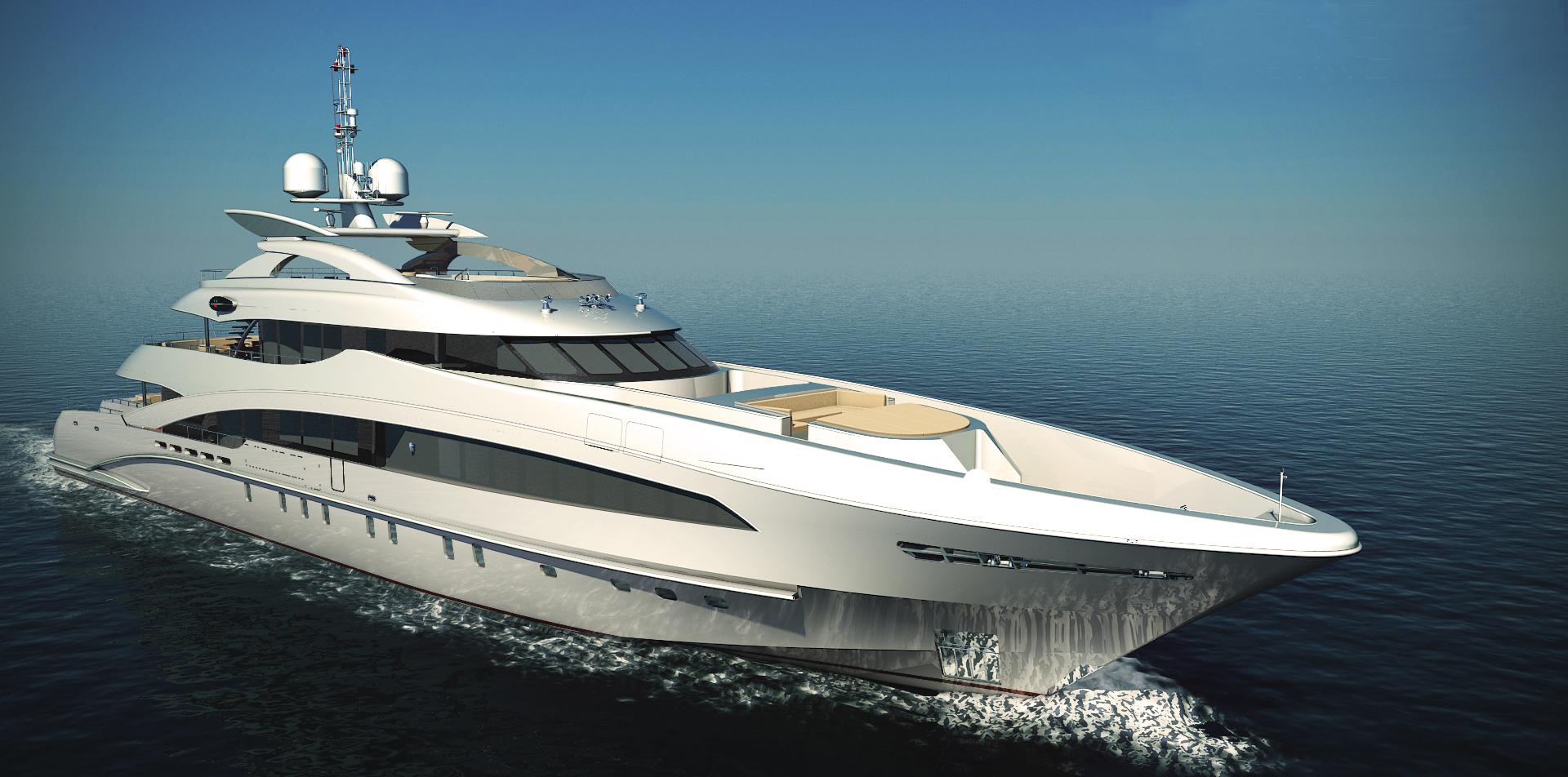 YN 15850 50-metre semi-displacement motor yacht by Heesen Yachts ...