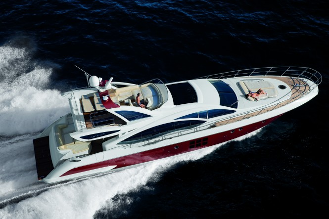 Azimut 72S Motor Yacht at the Dubai International Boat Show