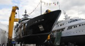 CBI 50 Superyacht Aifos launched by Cbi Navi