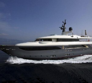 CRN motor yacht Lady Trudy and superyacht Darlings Danama at Cannes and Monaco International Boat Show