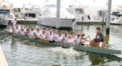 Dragon Boat Racing at Dubai�s Festival Marina