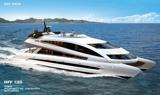 Greenline Yacht Interiors to complete 8 RFF135 motor yachts from the Royal Falcon Fleet