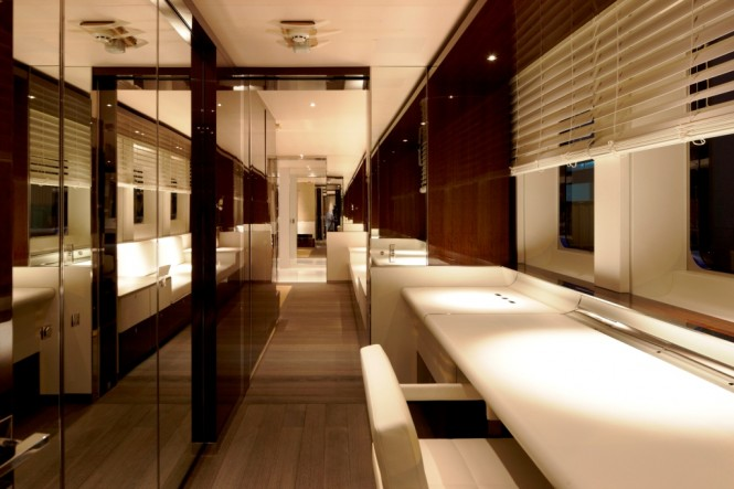 Heesen Yachts 50 m Motor Yacht Satori Interior Photo - Photo credit Dick ...