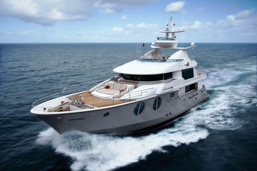 Horizon Ep105 Motor Yacht Cruising A Long Range Explorer