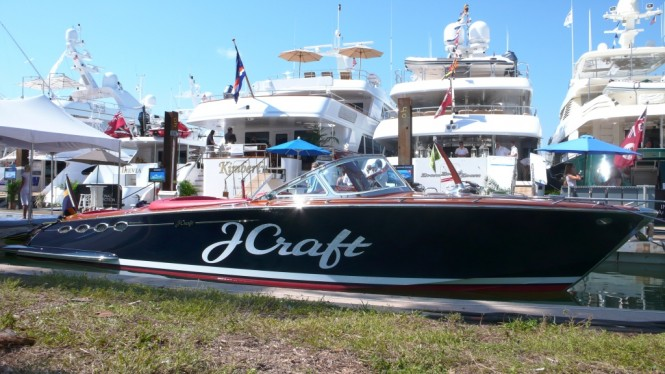 J Craft Yachts at the Miami Yacht & Brokerage Show