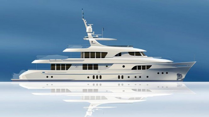 Largest Moonen extends to 42m – The Moonen 137 motor yacht