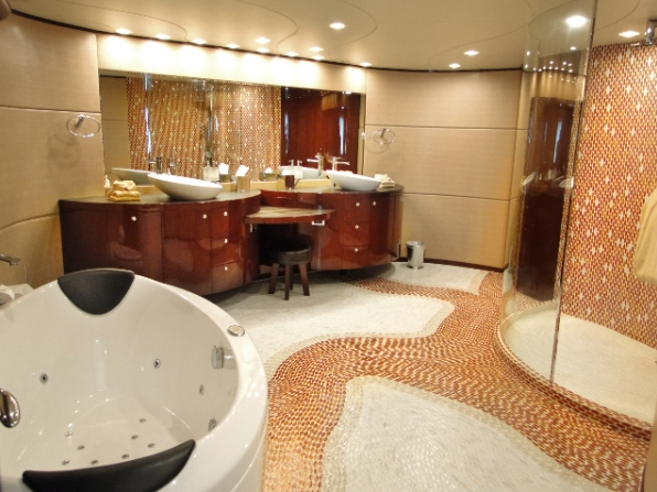 Luxury Superyacht Dreamer Owner Bathroom Image Courtesy Of