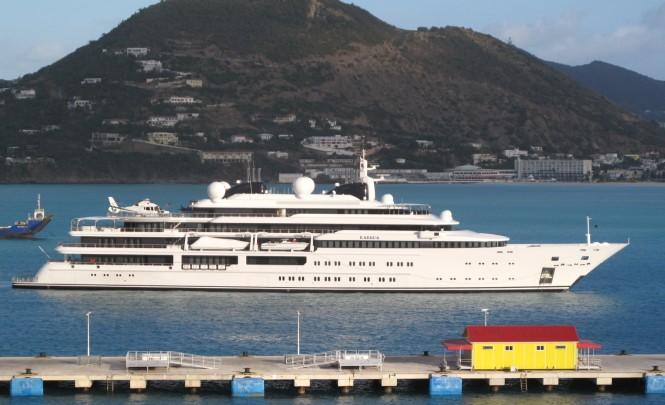Motor Yacht KATARA by Lurssen in St Martin, Caribbean