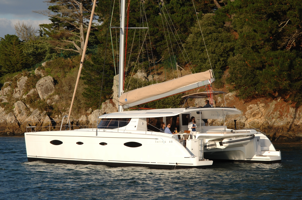 Motor Yacht Salina 48 Evolution Multihull Solutions