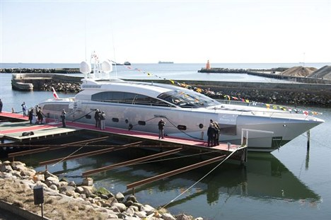 Motor yacht Shooting Star launched by Danish Yachts - Project 116 a 38 m AeroCruiser