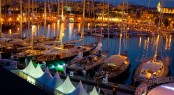 Muelle Viejo, Palma location of the Superyacht Cup Palma 2011