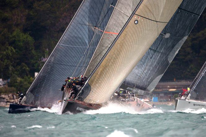Nespresso Cup Wally Sailing SuperYachts prepare for 2nd edition off Portofino
