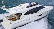 New Ferretti 500 on show for the very first time in Scandinavia at Copenhagen boat show �Bade I Bella�