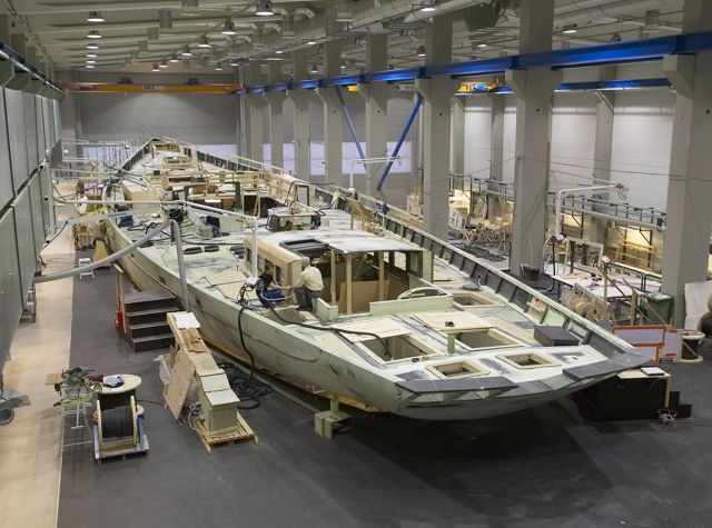 Panamax - Custom Baltic 197 ketch under construction at Baltic Yachts