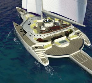 Prout International starts construction of second Prout PT 138: The World's largest sailing trimaran