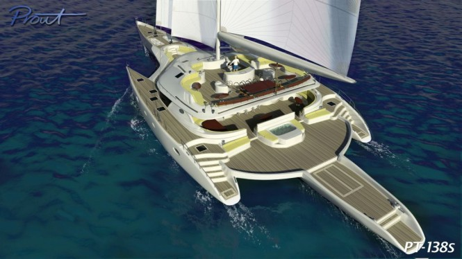 Prout International starts construction of second Prout PT 138 The World's largest sailing trimaran