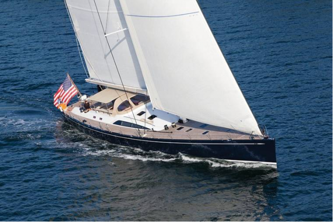 One of only a few 100 ft. Nautor Swan sailing yachts built, S/Y VIRAGO, ...