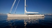 Dubois Sailing yacht Zefira at the Monaco yacht Show