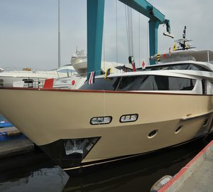 Sanlorenzo launch motor yacht Bubu Forever